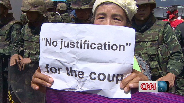 Thai military cracks down after coup
