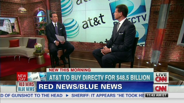 rs red news blue news at&t bid for direcTV _00034305.jpg