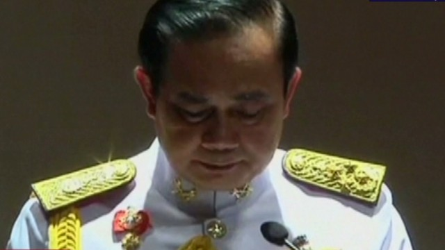 Thai general receives royal endorsement
