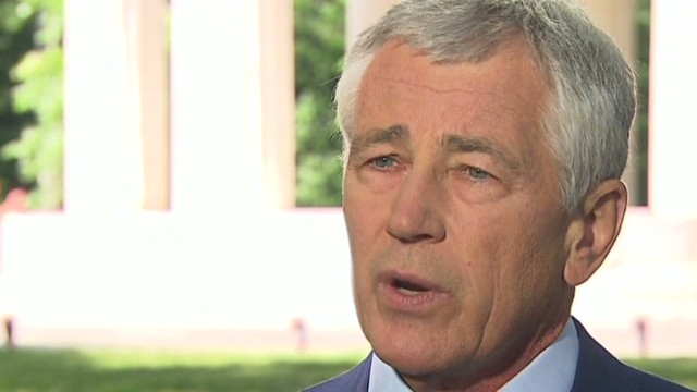 Hagel: 'It makes me sick'