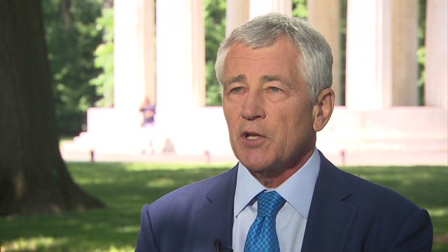Hagel: 'It makes me sick to my stomach'