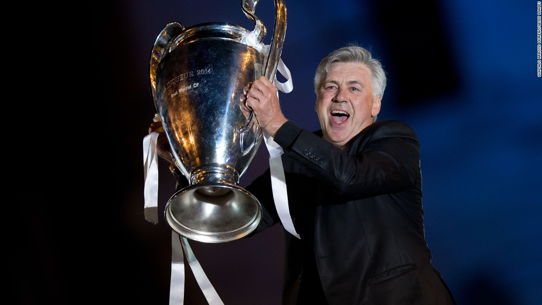 Carlo Ancelotti knows a thing or two about European Champions League success, having won the trophy three times. He twice led AC Milan to the title and famously ended Real Madrid's exhaustive wait for a 10th crown by beating Atletico Madrid 4-1 in the 2014 final.