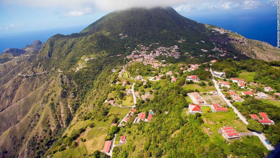 Dutch-held Saba is one of the least visited islands in the Caribbean. It draws a small yet committed bunch of visitors who come for the superb diving.