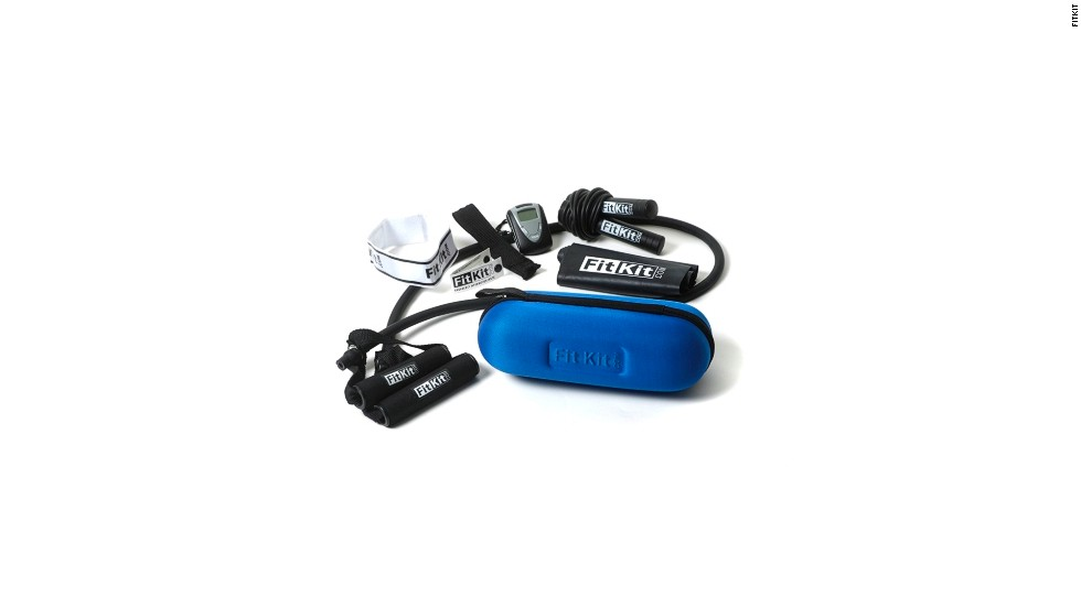 If you want to stay fit while on vacation, the all-in-one FitKit fitness kit will come in handy.