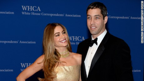 Sofia Vergara and Nick Loeb attend the 100th Annual White House Correspondents' Association Dinner at the Washington Hilton on May 3, 2014 in Washington, DC.