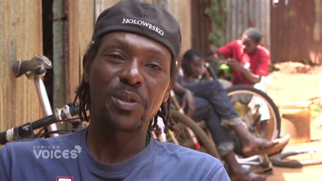 Kenyan cyclist grooms next generation