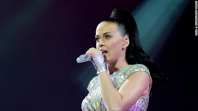 Katy Perry performs live at Radio 1's Big Weekend at Glasgow Green on May 25, 2014 in Glasgow, Scotland.