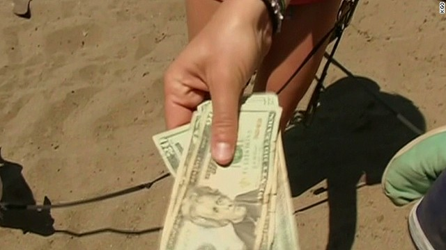 San Francisco residents find hidden cash