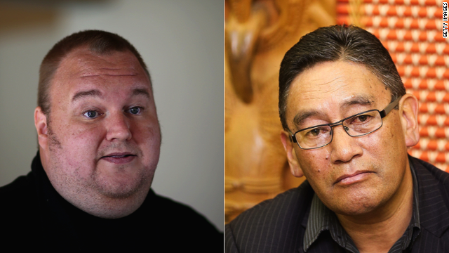German web tycoon Kim Dotcom and Maori nationalist Hone Harawira have been labeled a political odd couple.