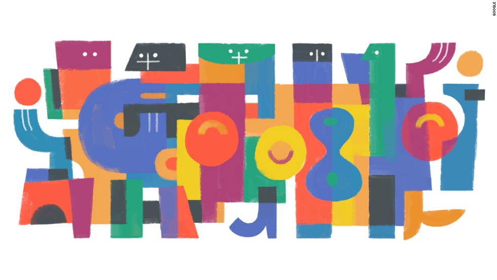 On December 2, 2013, Google marked Guatemalan artist Carlos Merida's 122nd birthday.