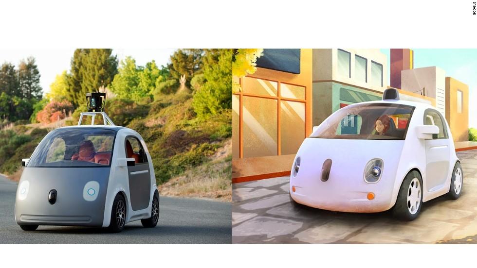 google self driving car has no steering wheel or brake. Black Bedroom Furniture Sets. Home Design Ideas