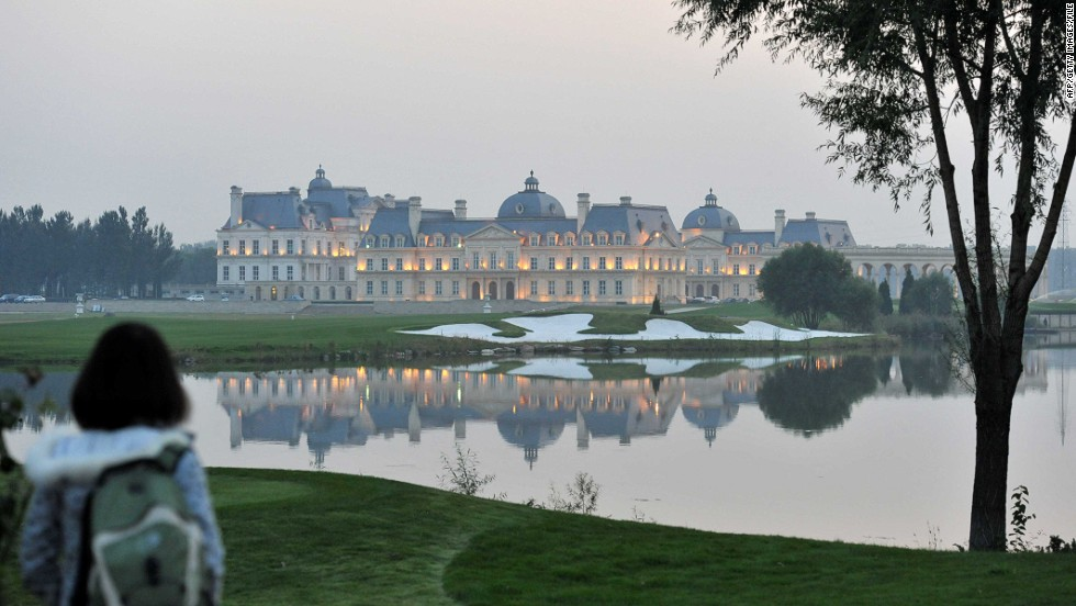 "It's not just real estate projects in China taking ideas from elsewhere in the world.<br /><br />This grandiose hotel on the outskirts of Beijing is a replica of the Château de Maisons-Laffitte, a famous Parisian landmark. As time progresses, however, Hack says it is likely that China's up and coming architects will begin to forge their own distinct style.<br /> <br />""I am sure that a distinctive quality of urban development will emerge, but it will be a new interpretation of history,"" he said.<br /><br />""Many of the new generation of professionals in China are seeking to mine architectural sources for influences.  They are generally more subtle -- (in terms of) materials, color, qualities of light, relationships to nature, and so on -- much as the Japanese constructed a modernist tradition from the 1950s on."" <br /><br />""(A lot of Chinese) planners and designers have been educated in the west or by westerners in China, so they make no distinctions between ideas; they are modernists wishing to work with the best available ideas."""