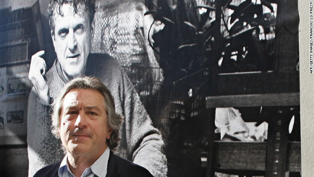 Robert De Niro at an exhibit of his father's works in 2005. De Niro Sr. is now the subject of a film by his son.
