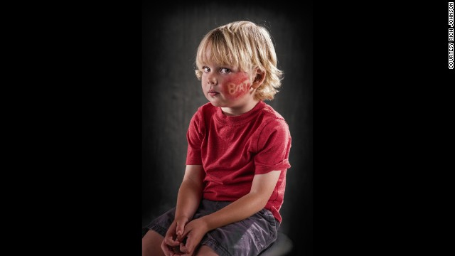 A verbal abuse awareness project by commercial photographer Rich Johnson.