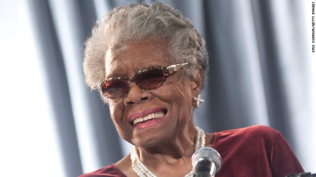 Maya Angelou speaks during the AARP Magazine's 2011 Inspire Awards at Ronald Reagan Building on December 9, 2010 in Washington, DC