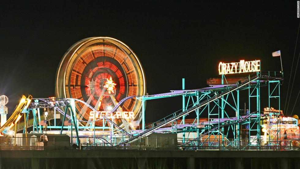 The historic Steel Pier has changed a lot since the early 20th century, but it's still entertaining guests after more than a century.