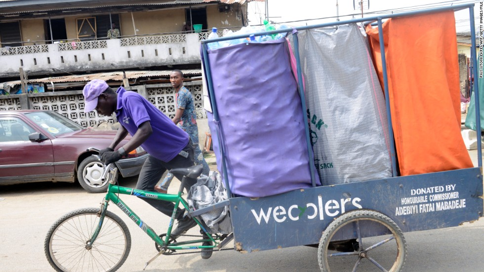 Wecyclers is a Lagos-based startup using an incentive-based program to deal with the waste problem in Lagos, the Nigerian megacity where more than 18 million people live.