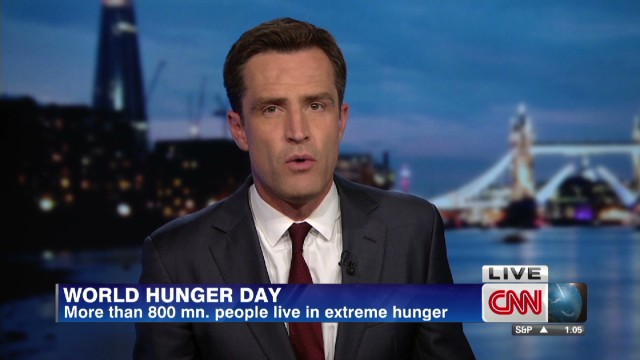 CNN explores hunger across the globe .