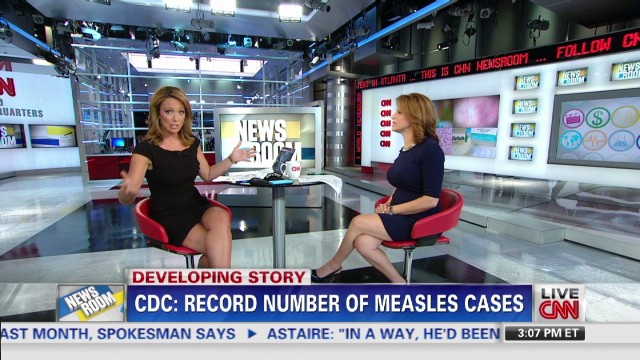 CDC: Record number of measles cases