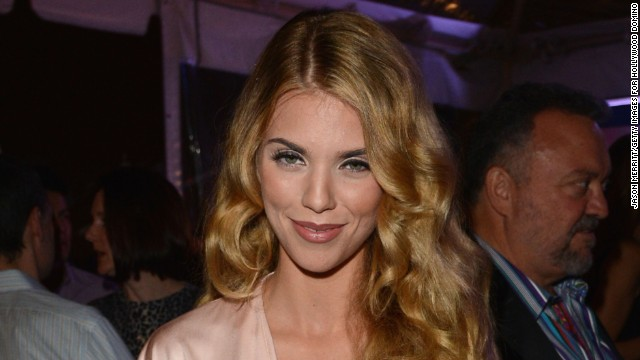 AnnaLynne McCord attends a gala in February 2014 in West Hollywood, California.
