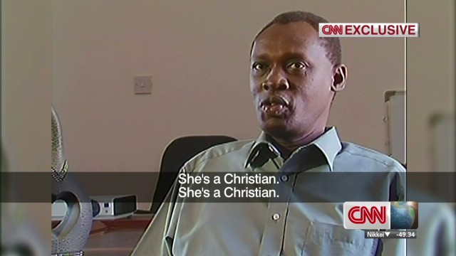 Exclusive: Sudanese woman's husband speaks out