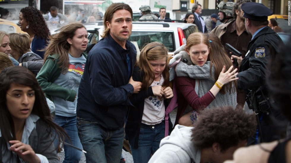 "<strong>""World War Z"" (2013)</strong> - Brad Pitt and Fabrizio Zacharee Guido try to save their family from certain destruction in this film. (Amazon and Netflix)"