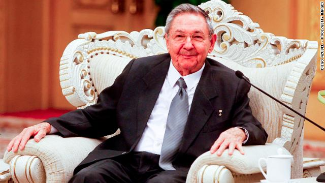 [File photo] Cuban President Raul Castro in Beijing, China, on July 6, 2012.