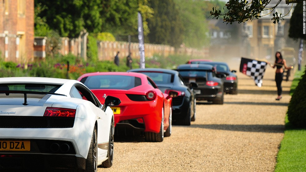 World S Most Stylish Supercars Take A Luxury Road Trip Style