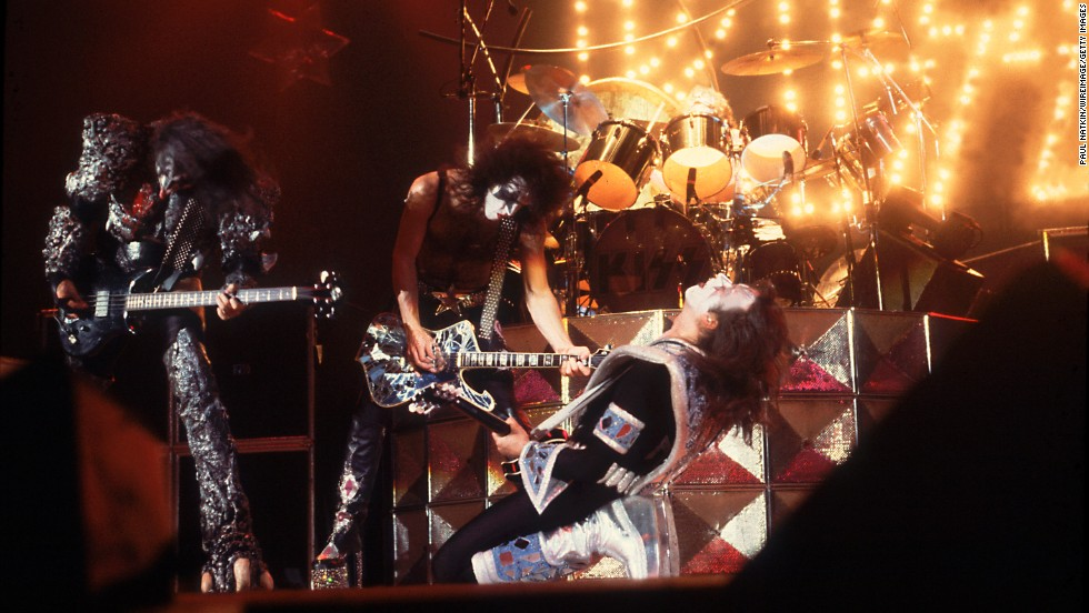 "Kiss used makeup to take its stage persona to another level. The group built its fan base over <a href=""http://www.cnn.com/2014/05/02/showbiz/gallery/40-years-of-kiss/"">40 years</a> of constant touring and was rewarded with such hit singles as ""Rock and Roll All Nite,"" ""Beth"" and ""Hard Luck Woman."""
