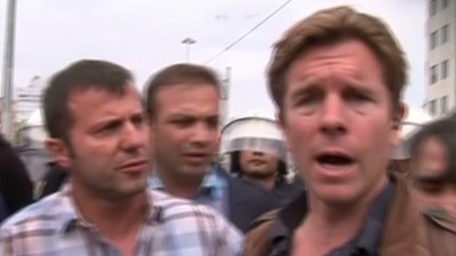 CNN reporter held by police on air