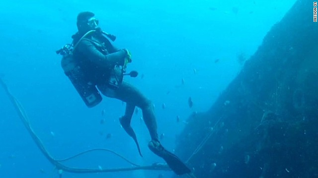 Living 60 feet underwater for 31 days