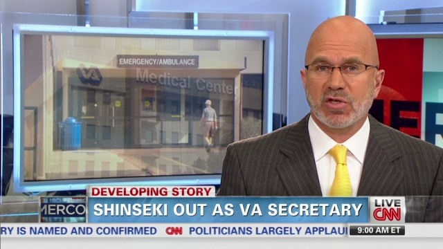 Shinseki out as VA secretary