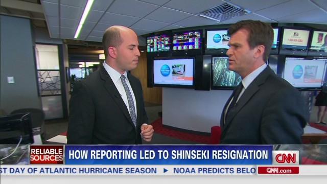 How reporting led to Shinseki resignation