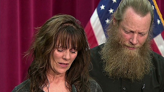 Bergdahl's parents emotional address