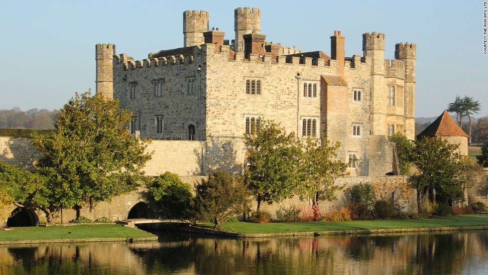 "The group gathers at the 12th century <a href=""http://www.leeds-castle.com/home"" target=""_blank"">Leeds Castle</a> in southeast England where, after a medieval banquet, they hop on a private Eurostar train to France and give their cars a spin at Rouen Airport."