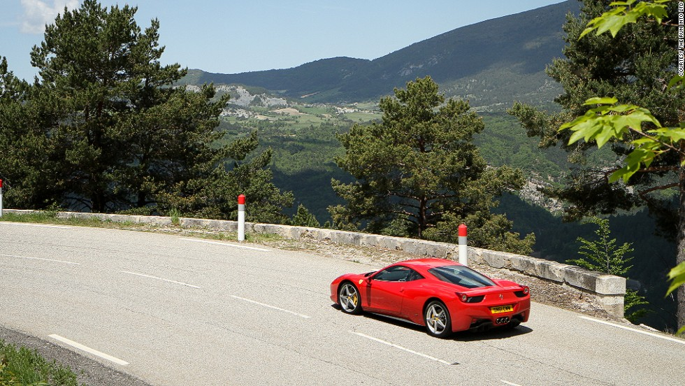 The journey continues across France's heartland, making stops in the Sancerre wine region and the Alps. At this price point, drivers don't expect to fumble with maps -- each car is equipped with a sat-nav with a programmed route, and luggage is taken in advance.