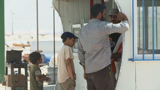 Refugees skeptical of Syrian election