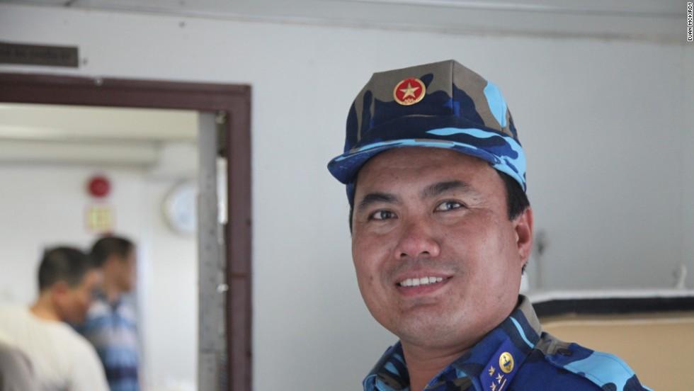 Major-Sargent Bui Van Son of CG 8003.