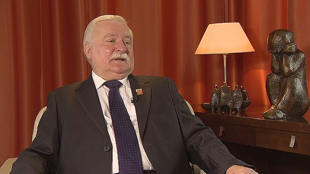 Walesa: U.S. spread too thin to lead