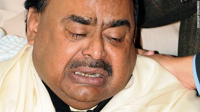 Pakistani political leader arrested in UK