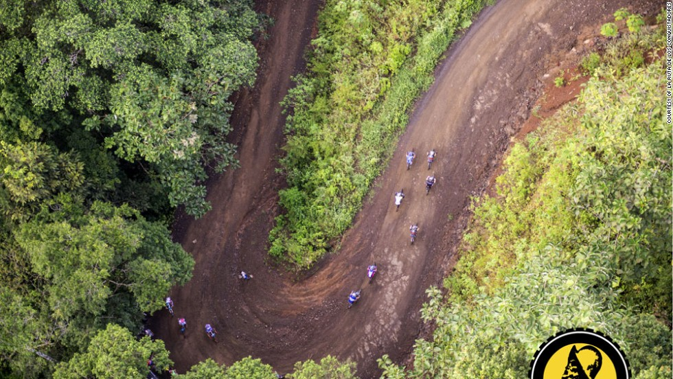 Tracing the route of the 16th-century Spanish conqueror Juan de Cavallon, La Ruta takes cyclists through Costa Rica's vast range of natural wonders.