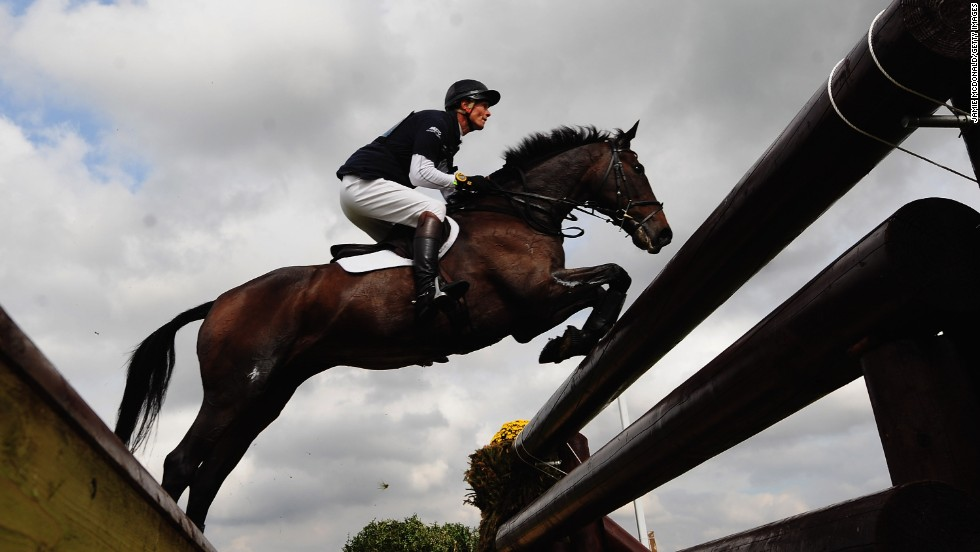 William Fox-Pitt is currently the world's No.1 ranked rider in the sport of three-day eventing.