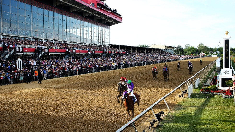 The chestnut colt followed up the Kentucky Derby by winning the 139th running of the Preakness Stakes at Pimlico Race Course later in May to set up the possibility of a first Triple Crown win since 1978.