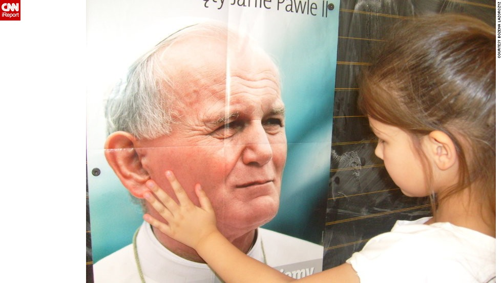 "To celebrate Poland's 25 years of independence, readers shared their favorite things about the country. The most famous person in Poland is arguably <a href=""http://ireport.cnn.com/docs/DOC-1140033"">Pope John Paul II</a>. From posters to personal shrines, Poles find ways to remember the first Polish pope."