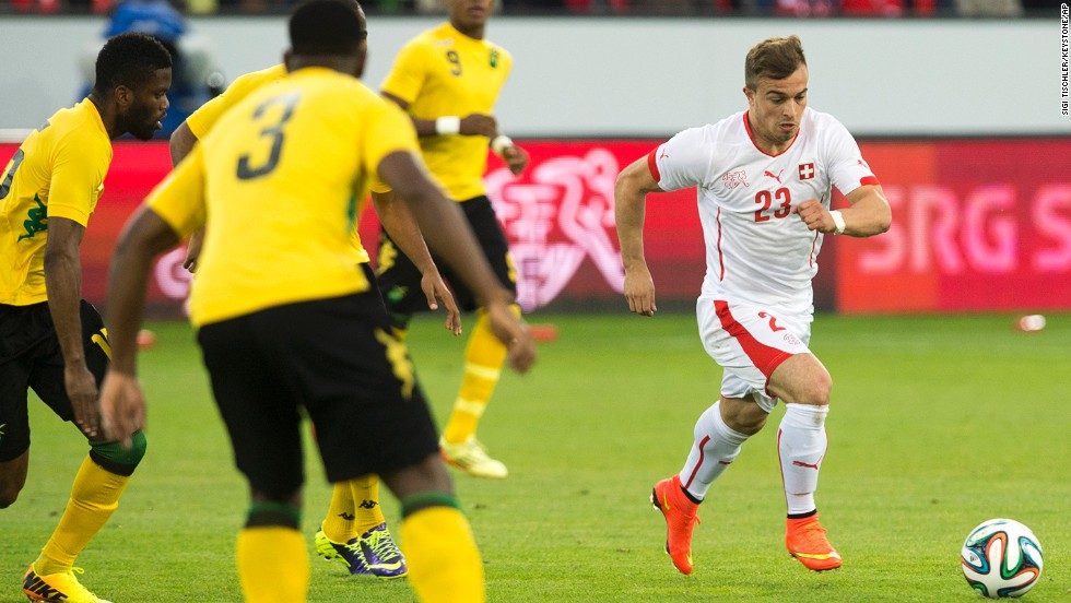 <strong>Xherdan Shaqiri (Switzerland):</strong> The Swiss don't have much offensive firepower (only one player has double-digit international goals), but that might change as this 22-year-old is earning comparisons to the world's top attackers. Why haven't you heard of him? Three reasons: Franck Ribery, Arjen Robben and Thomas Mueller. Some of the world's best players are attacking midfielders at Shaqiri's club, Bayern Munich. Good mentors for a budding star.