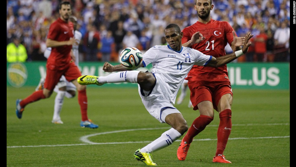 <strong>Jerry Bengston (Honduras):</strong> His performance for the New England Revolution has been lackluster. Just months ago, he wasn't sure he'd make the World Cup squad. He got the nod, likely because when you put him in Honduras' blue and white, he delivers a goal every other game on average. He's especially lethal with his back to goal. Honduras is outmatched on paper, so Los Catrachos will need Bengston and Carlo Costly to find the net.