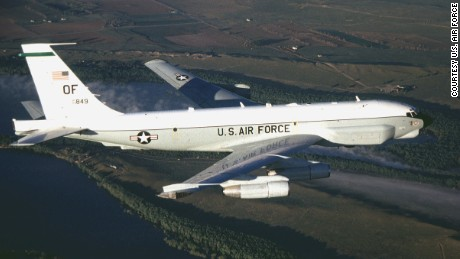 A U.S. Air Force RC-135