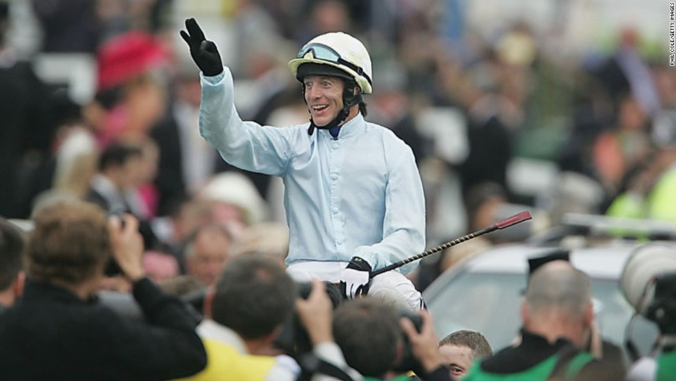 In 2004, the 51-year-old Irishman won the Epsom Derby on North Light, the third time he won the prestigious British flat race.