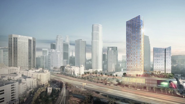Metropolis redesigns L.A.'s skyline