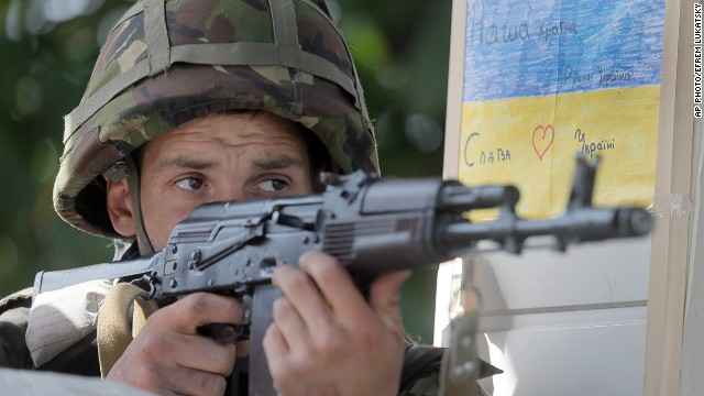 Battle for Slovyansk intensifies